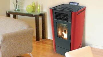 Estufas de pellets estufas de biomasa pellets calor - Estufa biomasa precio ...